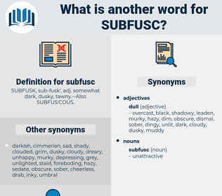 subfusc, synonym subfusc, another word for subfusc, words like subfusc, thesaurus subfusc