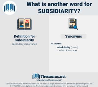 subsidiarity, synonym subsidiarity, another word for subsidiarity, words like subsidiarity, thesaurus subsidiarity