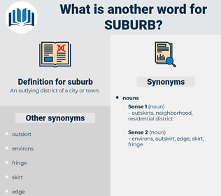 suburb, synonym suburb, another word for suburb, words like suburb, thesaurus suburb