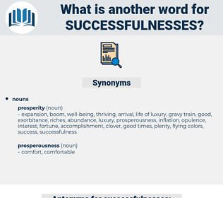 successfulnesses, synonym successfulnesses, another word for successfulnesses, words like successfulnesses, thesaurus successfulnesses