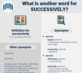 successively, synonym successively, another word for successively, words like successively, thesaurus successively