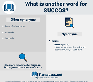 succos, synonym succos, another word for succos, words like succos, thesaurus succos