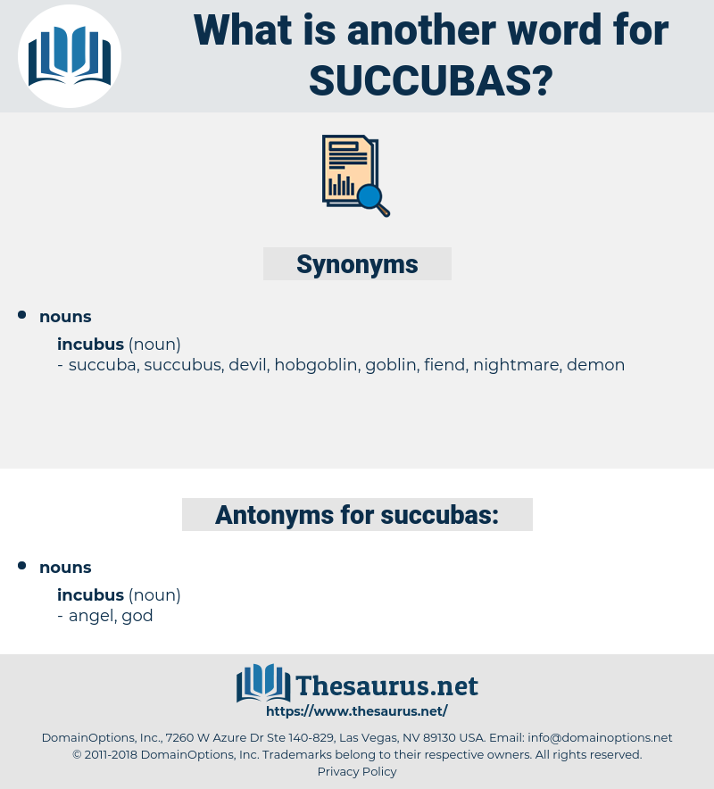 succubas, synonym succubas, another word for succubas, words like succubas, thesaurus succubas