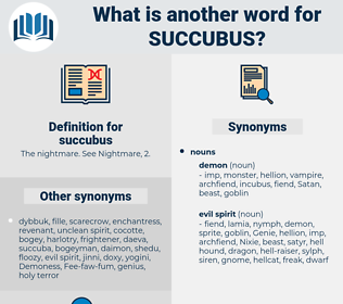 succubus, synonym succubus, another word for succubus, words like succubus, thesaurus succubus