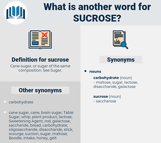 sucrose, synonym sucrose, another word for sucrose, words like sucrose, thesaurus sucrose