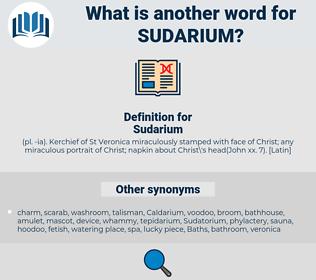 Sudarium, synonym Sudarium, another word for Sudarium, words like Sudarium, thesaurus Sudarium
