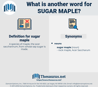 sugar maple, synonym sugar maple, another word for sugar maple, words like sugar maple, thesaurus sugar maple