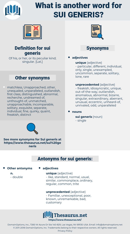 sui generis, synonym sui generis, another word for sui generis, words like sui generis, thesaurus sui generis