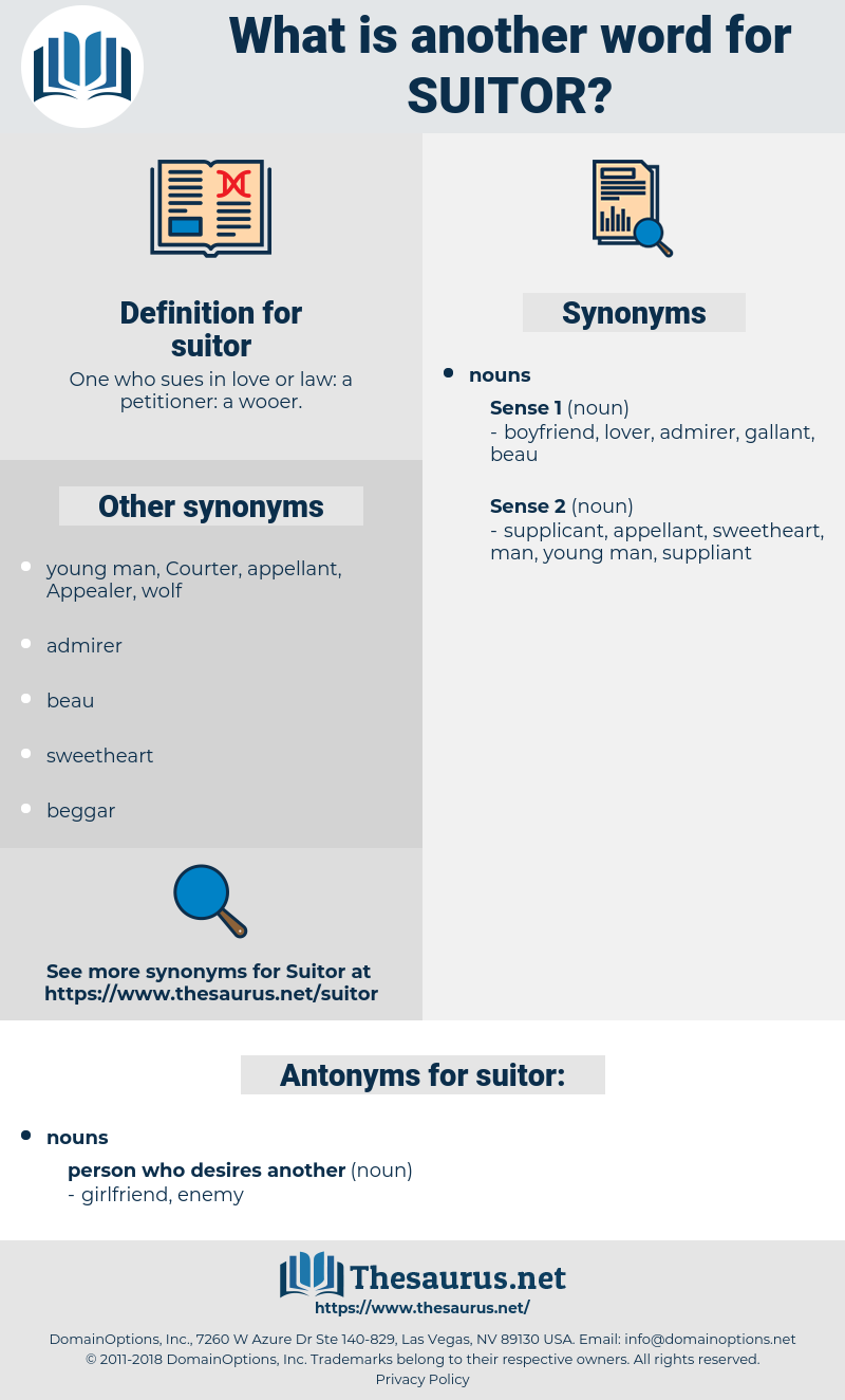 suitor, synonym suitor, another word for suitor, words like suitor, thesaurus suitor