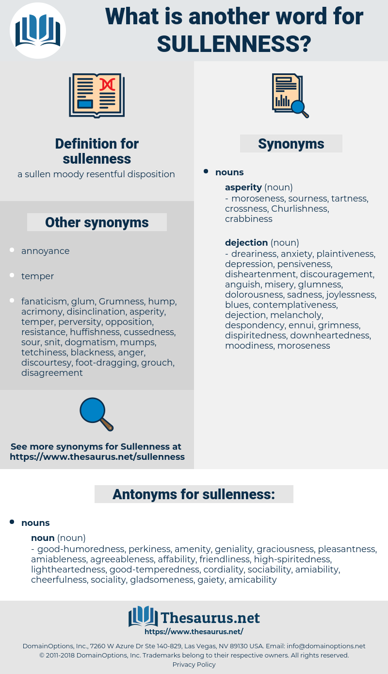 sullenness, synonym sullenness, another word for sullenness, words like sullenness, thesaurus sullenness