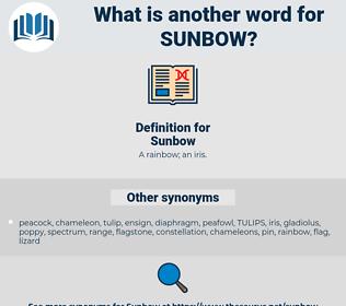 Sunbow, synonym Sunbow, another word for Sunbow, words like Sunbow, thesaurus Sunbow