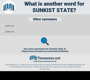 Sunkist State, synonym Sunkist State, another word for Sunkist State, words like Sunkist State, thesaurus Sunkist State