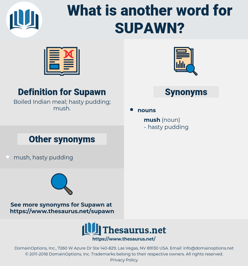 Supawn, synonym Supawn, another word for Supawn, words like Supawn, thesaurus Supawn