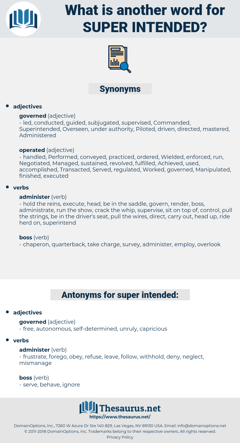 super-intended, synonym super-intended, another word for super-intended, words like super-intended, thesaurus super-intended