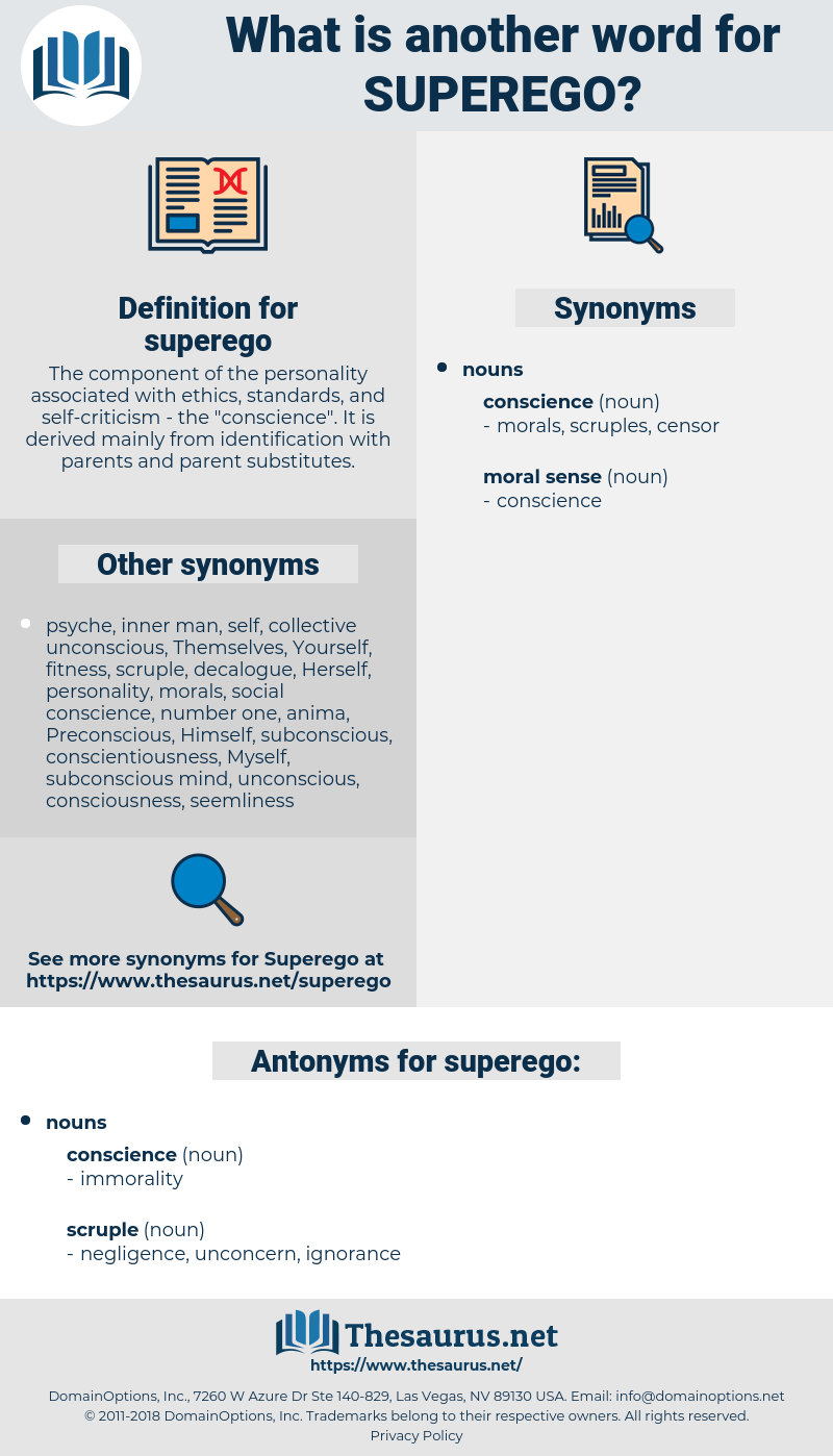 superego, synonym superego, another word for superego, words like superego, thesaurus superego