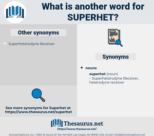 superhet, synonym superhet, another word for superhet, words like superhet, thesaurus superhet