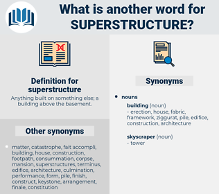 superstructure, synonym superstructure, another word for superstructure, words like superstructure, thesaurus superstructure