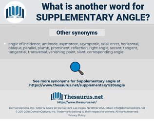 supplementary angle, synonym supplementary angle, another word for supplementary angle, words like supplementary angle, thesaurus supplementary angle