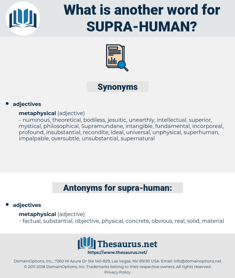 supra human, synonym supra human, another word for supra human, words like supra human, thesaurus supra human