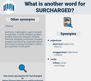 Surcharged, synonym Surcharged, another word for Surcharged, words like Surcharged, thesaurus Surcharged