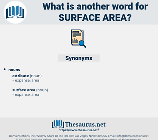 surface area, synonym surface area, another word for surface area, words like surface area, thesaurus surface area