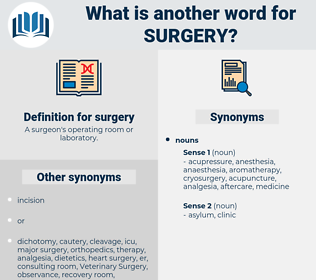surgery, synonym surgery, another word for surgery, words like surgery, thesaurus surgery