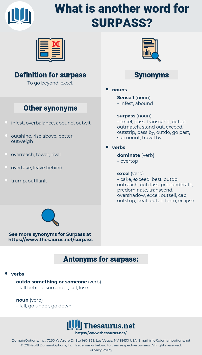 surpass, synonym surpass, another word for surpass, words like surpass, thesaurus surpass
