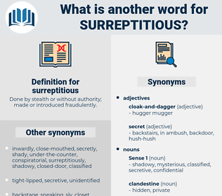 surreptitious, synonym surreptitious, another word for surreptitious, words like surreptitious, thesaurus surreptitious