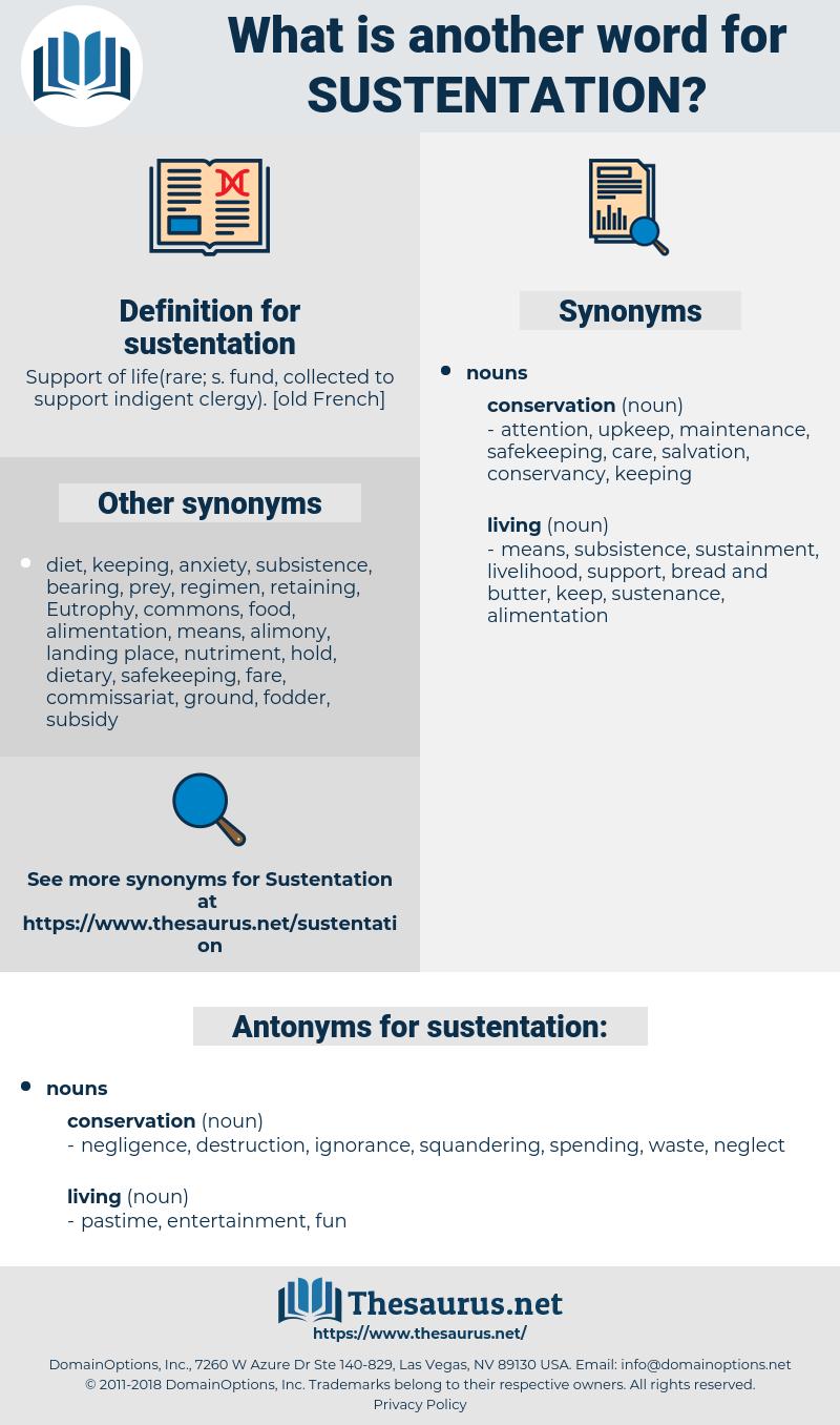 sustentation, synonym sustentation, another word for sustentation, words like sustentation, thesaurus sustentation
