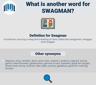 Swagman, synonym Swagman, another word for Swagman, words like Swagman, thesaurus Swagman