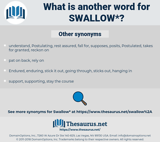 swallow, synonym swallow, another word for swallow, words like swallow, thesaurus swallow