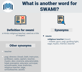 swami, synonym swami, another word for swami, words like swami, thesaurus swami