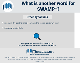 swamp, synonym swamp, another word for swamp, words like swamp, thesaurus swamp