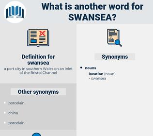 swansea, synonym swansea, another word for swansea, words like swansea, thesaurus swansea