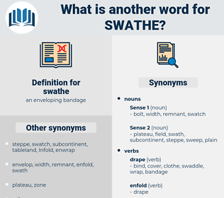 swathe, synonym swathe, another word for swathe, words like swathe, thesaurus swathe