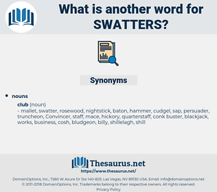 swatters, synonym swatters, another word for swatters, words like swatters, thesaurus swatters