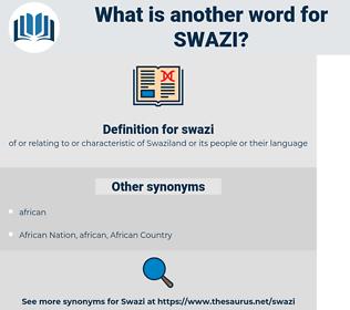 swazi, synonym swazi, another word for swazi, words like swazi, thesaurus swazi