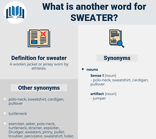 sweater, synonym sweater, another word for sweater, words like sweater, thesaurus sweater