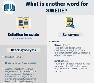 swede, synonym swede, another word for swede, words like swede, thesaurus swede