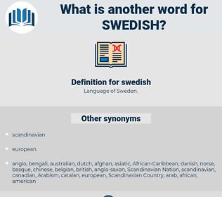 swedish, synonym swedish, another word for swedish, words like swedish, thesaurus swedish