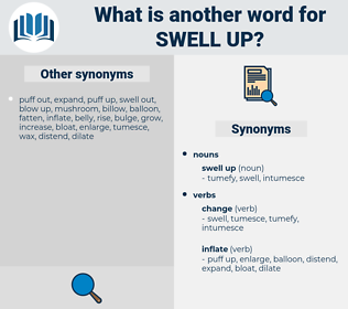 swell up, synonym swell up, another word for swell up, words like swell up, thesaurus swell up