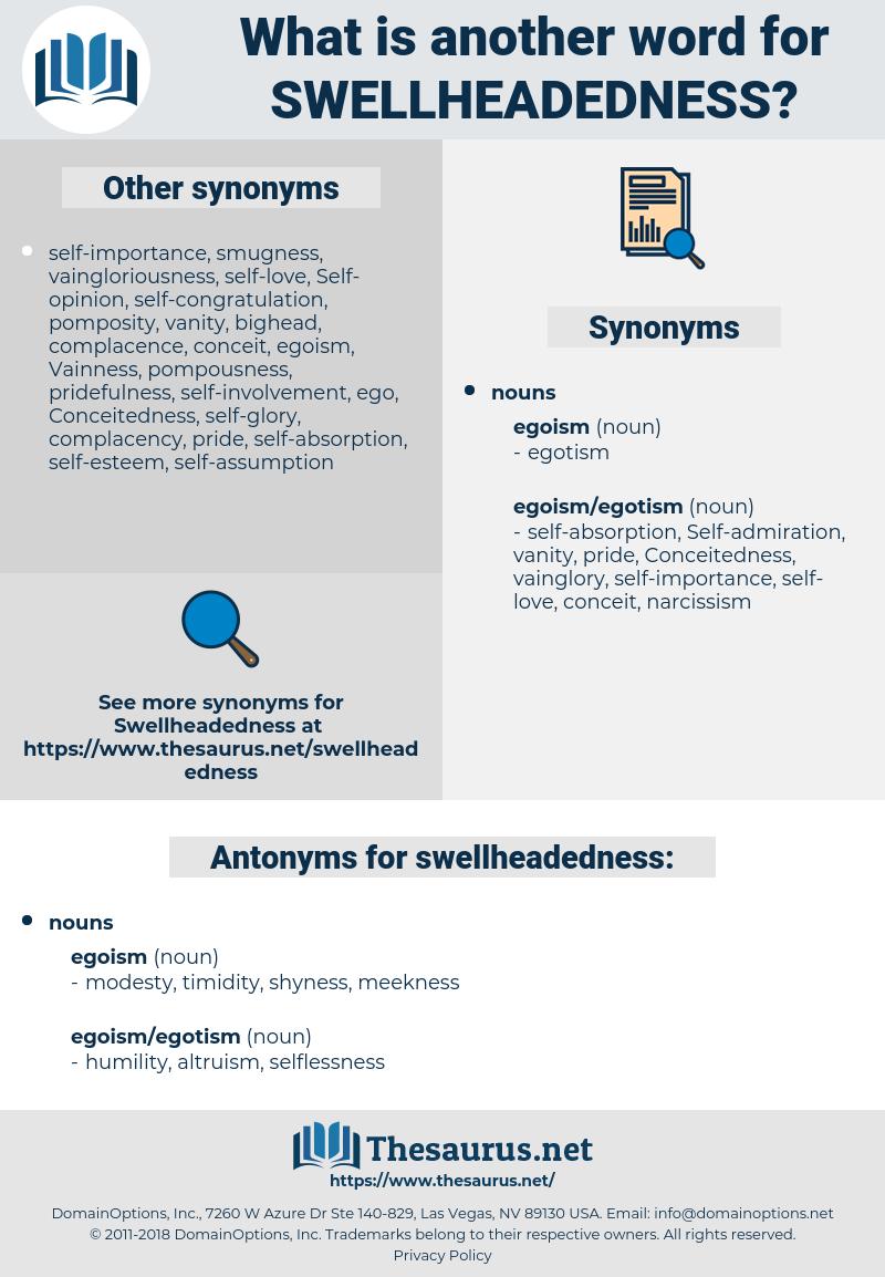 swellheadedness, synonym swellheadedness, another word for swellheadedness, words like swellheadedness, thesaurus swellheadedness
