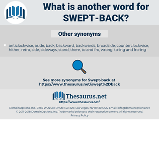 swept-back, synonym swept-back, another word for swept-back, words like swept-back, thesaurus swept-back