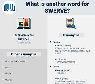 swerve, synonym swerve, another word for swerve, words like swerve, thesaurus swerve