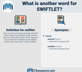 swiftlet, synonym swiftlet, another word for swiftlet, words like swiftlet, thesaurus swiftlet