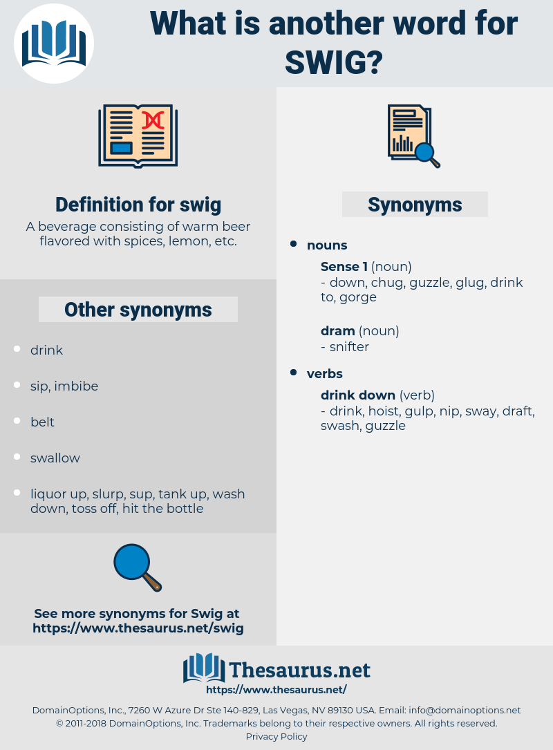 swig, synonym swig, another word for swig, words like swig, thesaurus swig