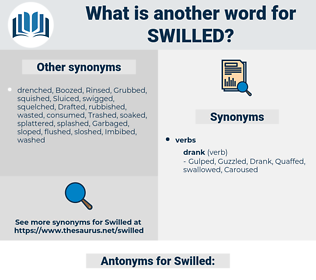 Swilled, synonym Swilled, another word for Swilled, words like Swilled, thesaurus Swilled