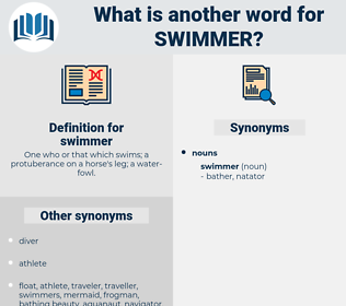 swimmer, synonym swimmer, another word for swimmer, words like swimmer, thesaurus swimmer