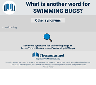 swimming bugs, synonym swimming bugs, another word for swimming bugs, words like swimming bugs, thesaurus swimming bugs