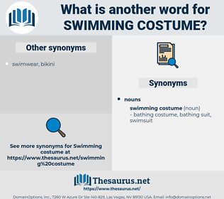 swimming costume, synonym swimming costume, another word for swimming costume, words like swimming costume, thesaurus swimming costume